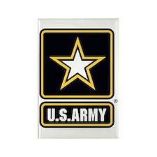 U.S. Army Star Logo Rectangle Magnet