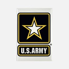 U.S. Army Star Logo Rectangle Magnet