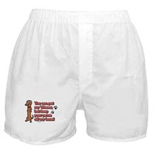 You Can Pet My Wiener! Boxer Shorts