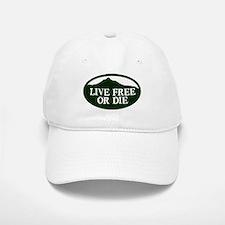 Live Free or Die Baseball Baseball Baseball Cap