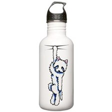 Clingy Westie Water Bottle