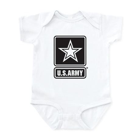 U.S. Army Star Logo [b/w] Infant Bodysuit