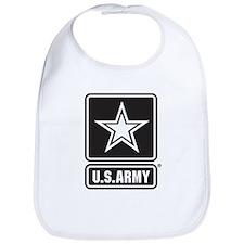 U.S. Army Star Logo [b/w] Bib