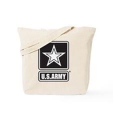 U.S. Army Star Logo [b/w] Tote Bag