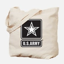 U.S. Army Star Logo [b/w] Tote Bag