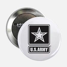 """U.S. Army Star Logo [b/w] 2.25"""" Button"""