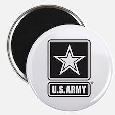 U.S. Army Star Logo [b/w] Magnet