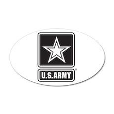 U.S. Army Star Logo [b/w] Wall Decal