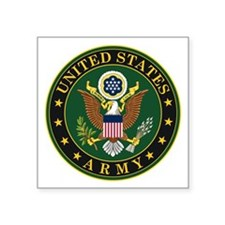 "U.S. Army Symbol Square Sticker 3"" x 3"""