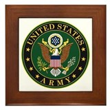 Usarmy Framed Tiles