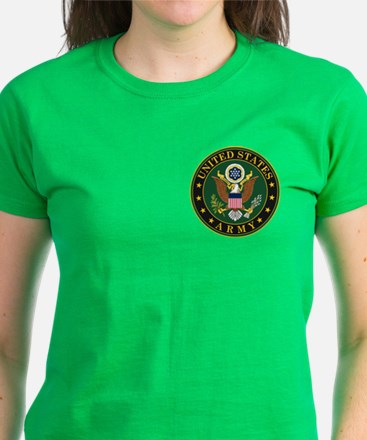 U.S. Army Symbol Women's Dark T-Shirt