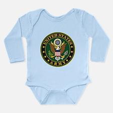 U.S. Army Symbol Long Sleeve Infant Bodysuit