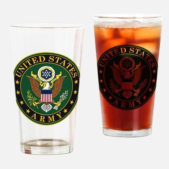 U.S. Army Symbol Drinking Glass