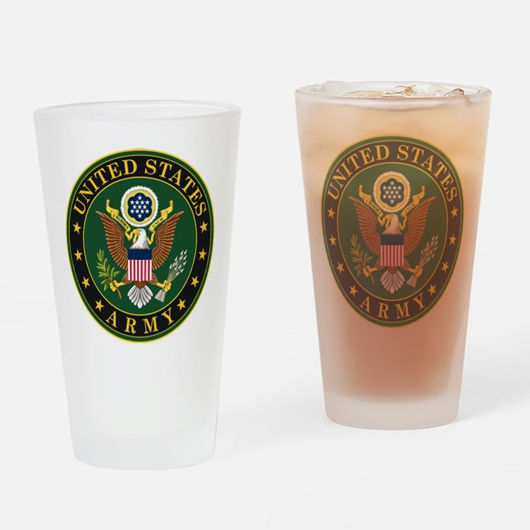 U.S. Army Symbol Drinking Glass