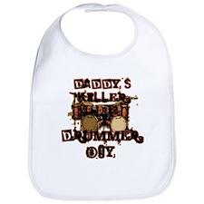 Daddy's Killer Drummer Boy Bib