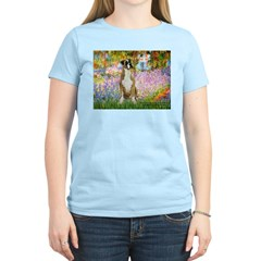 Boxer in Monet's Garden T-Shirt