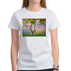 Boxer in Monet's Garden Tee
