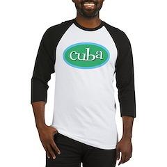 Cuba Ocean Baseball Jersey