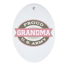 U. S. Army Grandma Ornament (Oval)