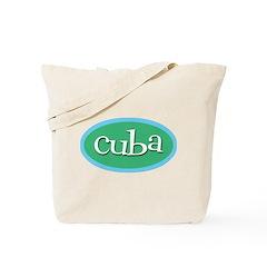 Cuba Ocean Tote Bag