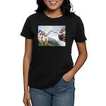 Creation of the Boxer Women's Dark T-Shirt