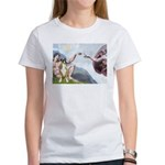 Creation of the Boxer Women's T-Shirt