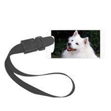 american eskimo Luggage Tag