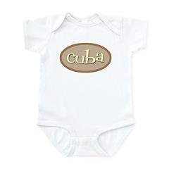 Cuba Natural Infant Bodysuit