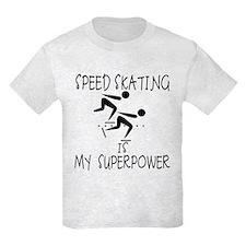 SPEEDSKATING is My Superpower T-Shirt