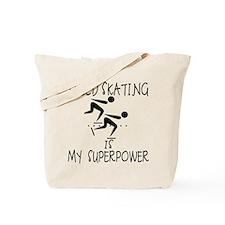SPEEDSKATING is My Superpower Tote Bag