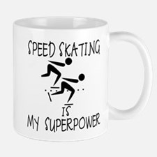 SPEEDSKATING is My Superpower Mug