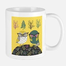 Trendy Owls Mug