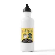 Trendy Owls Water Bottle
