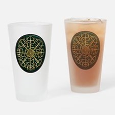 Nordic Guidance - Green Drinking Glass