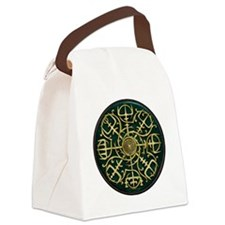 Nordic Guidance - Green Canvas Lunch Bag