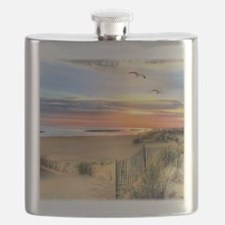 Cape Hatteras Lighthouse Flask