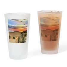 Cape Hatteras Lighthouse Drinking Glass