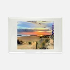 Cape Hatteras Lighthouse Rectangle Magnet