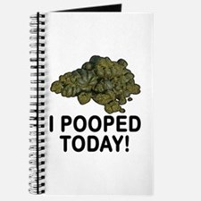 I Pooped Today Funny Journal