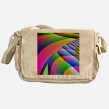 Colorful Abstract Pattern Messenger Bag