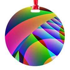 Colorful Abstract Pattern Ornament