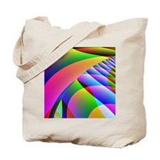 Colorful Abstract Pattern Tote Bag
