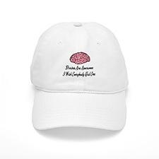 Brains Are Awesome Baseball Baseball Cap