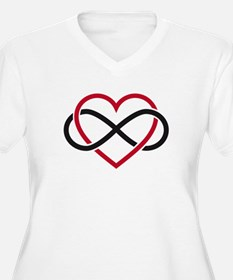 Love Forever Plus Size T-Shirt