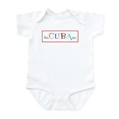Cuba BC AC Fun Infant Bodysuit