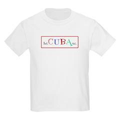 Cuba BC AC Fun Kids Light T-Shirt