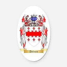 Dobson Oval Car Magnet