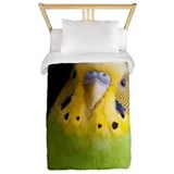 Parrot or parakeet Twin Duvet Covers