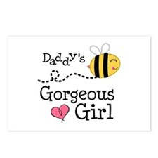 Bumble Bee Daddys Girl Postcards (Package of 8)