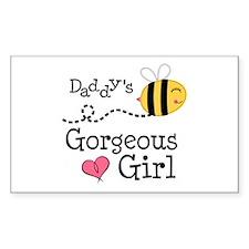 Bumble Bee Daddys Girl Decal